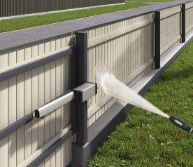 Пластиковый (ДПК) забор