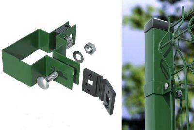 Панельный забор 3D