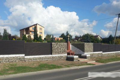Жестянной забор