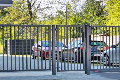 Вертикальный забор