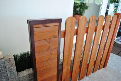 Столбы из дерева